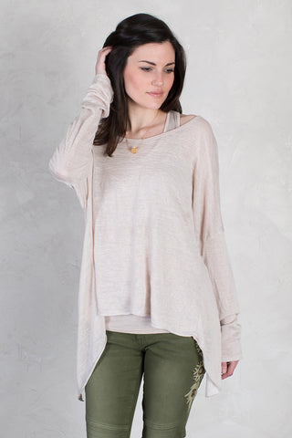 Layered Open Back Top