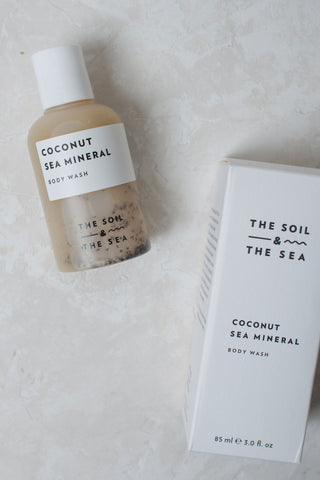 The Soil & The Sea Body Wash - Coconut Sea Mineral