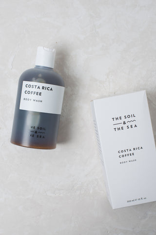 The Soil & The Sea Body Wash - Costa Rican Coffee