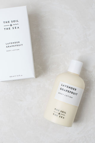 The Soil & The Sea Body Lotion - Lavender Grapefruit