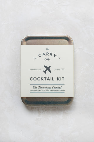 Carry On Cocktail Kit - Champagne
