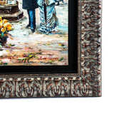 Paris Street Scene - Original Oil Painting
