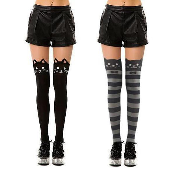 Knee High Catyhose Set