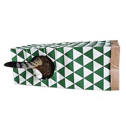 Hide & Seek Cat Tunnel Toy