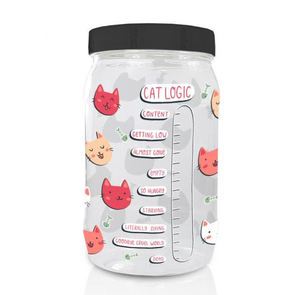 Always Hungry Cat Food Container
