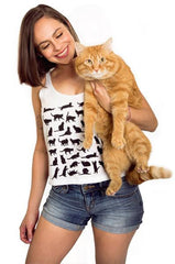 Clowder Cats Crop Top