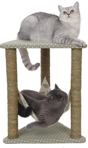 Fancy Cat Lounge & Scratching Post