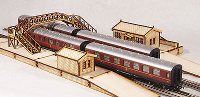 CS001 Complete Station Set OO Gauge Laser Cut Kit