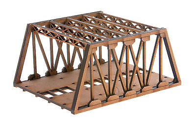 N-BR003 Twin Track Short Girder Rail Bridge N Gauge Model Laser Cut Kit