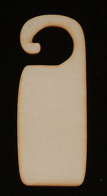 Door Hanger 3mm Thick - 195mm x 70mm