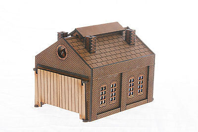 N-ES001 Engine Shed N Gauge Laser Cut Kit