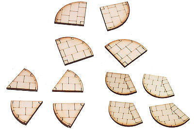PV005 Pavement Corner Sections Laser Cut Kit Pack of 4