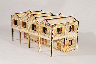 BS001 Bus Station OO Gauge Model Laser Cut Kit