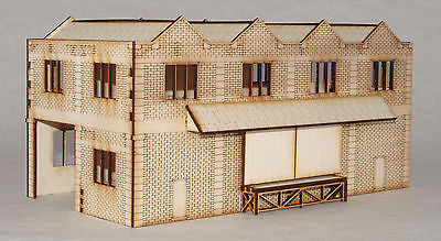 GS001 Goods Shed OO Gauge Model Laser Cut Kit