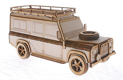 Land Rover Defender Laser Cut Model Kit