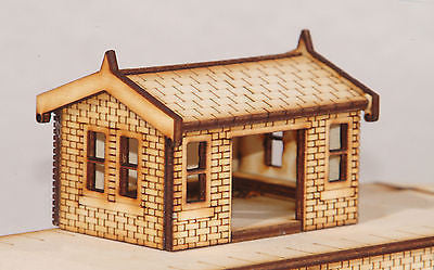 ST001 Small Waiting Room OO Gauge Laser Cut Kit
