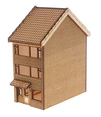 HS007 3 Storey Town House OO Gauge Laser Cut Kit