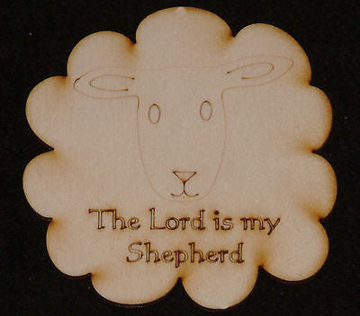 Lord is My Shepherd Large Shape