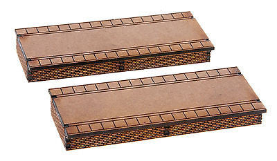 N-PS001 Double Sided Platform Twin pack N Gauge Laser Cut Kit
