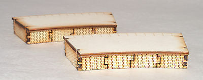 PS009 Single Sided Inner 1st Radius Curved Platform Twin OO Gauge Laser Cut Kit