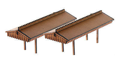 N-PC001 Platform Canopy Twin pack N Gauge Laser Cut Kit
