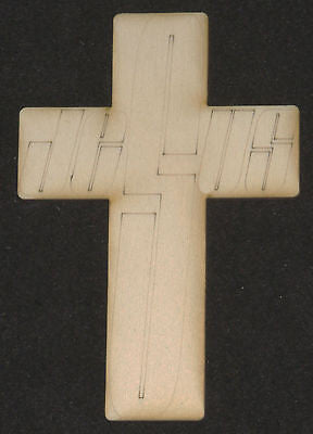 'Jesus' Cross (Crucifix) Shape