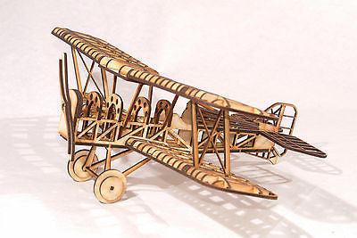 SE5a World War 1 Biplane Laser Cut Model Kit