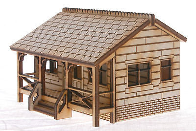 CP001 Cricket Pavilion OO Gauge Laser Cut