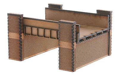 N-BR001 Twin Track Rail Bridge N Gauge Model Laser Cut Kit