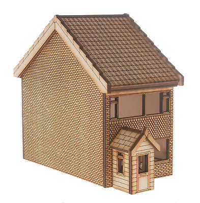HS010 2 Storey Town House OO Gauge Laser Cut Kit