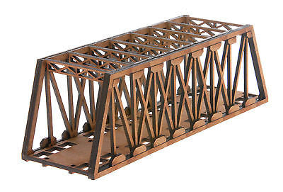N-BR006 Single Track Long Girder Rail Bridge N Gauge Model Laser Cut Kit
