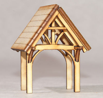 CH002 Lych Gate OO Gauge Model Laser Cut Kit