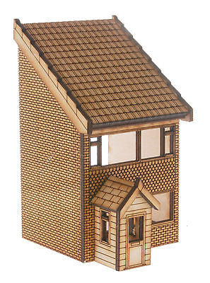 HS011 Low Relief 2 Storey Town House OO Gauge Laser Cut Kit