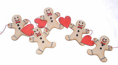 Christmas Gingerbread Garland Decoration Kit