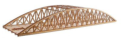 BR015 Twin Track Long Bowstring Rail Bridge OO Gauge Model Laser Cut Kit