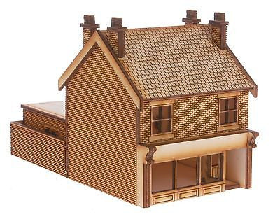 SH009 Victorian Terraced Shop Type 2 Right Handed OO Gauge Laser Cut Kit