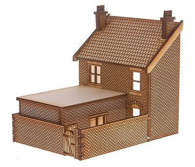 SH018 Victorian Shop Type 3 Left Hand Low Relief Rear OO Gauge Laser Cut Kit