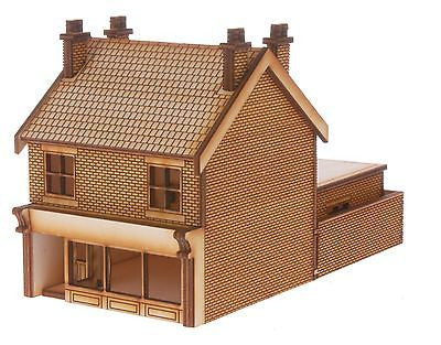 SH008 Victorian Terraced Shop Type 2 Left Handed OO Gauge Laser Cut Kit