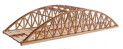 BR013 Twin Track Mid Length Bowstring Rail Bridge OO Gauge Model Laser Cut Kit