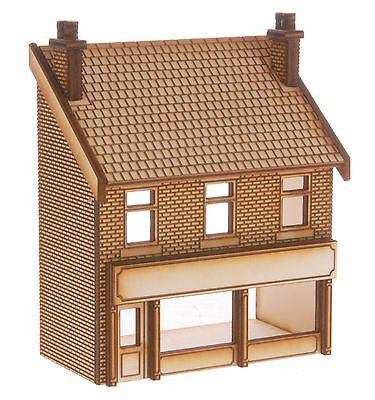 SH016 Victorian Shop Type 3 Low Relief Front Left Hand OO Gauge Laser Cut Kit