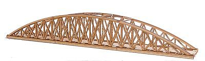 BR016 Single Track Long Bowstring Rail Bridge OO Gauge Model Laser Cut Kit