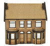 N-HS014 Low Relief Victorian Double Bay Window Terraced Houses N Gauge Laser Cut