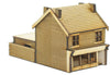 N-SH009 Victorian Terraced Shop Type 2 Right Handed N Gauge Laser Cut Kit