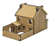 N-PB002 Victorian Terraced Pub Right Hand N Gauge Laser Cut Kit