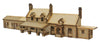 "ST006 Half Relief ""Hesketh"" Station Building OO Gauge Laser Cut Kit"