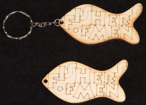 'Fishers of Men' small shapes / Keyrings