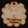'The Lord is my Shepherd' small shapes / Keyrings