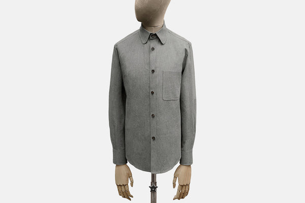 Cotton Standard Collar Shirt