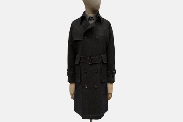 Woollen Bedford Trench Coat