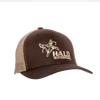 Brown/Tan Retro Trucker Cap